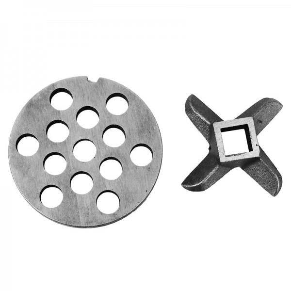 "#22 Knife and Grinder Plate - 1/2"" Replacement Set"