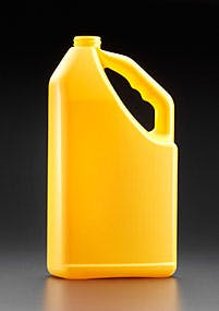 K - Style Handled Oblong, No Glug Plastic bottle sold by Kaufman Container Company