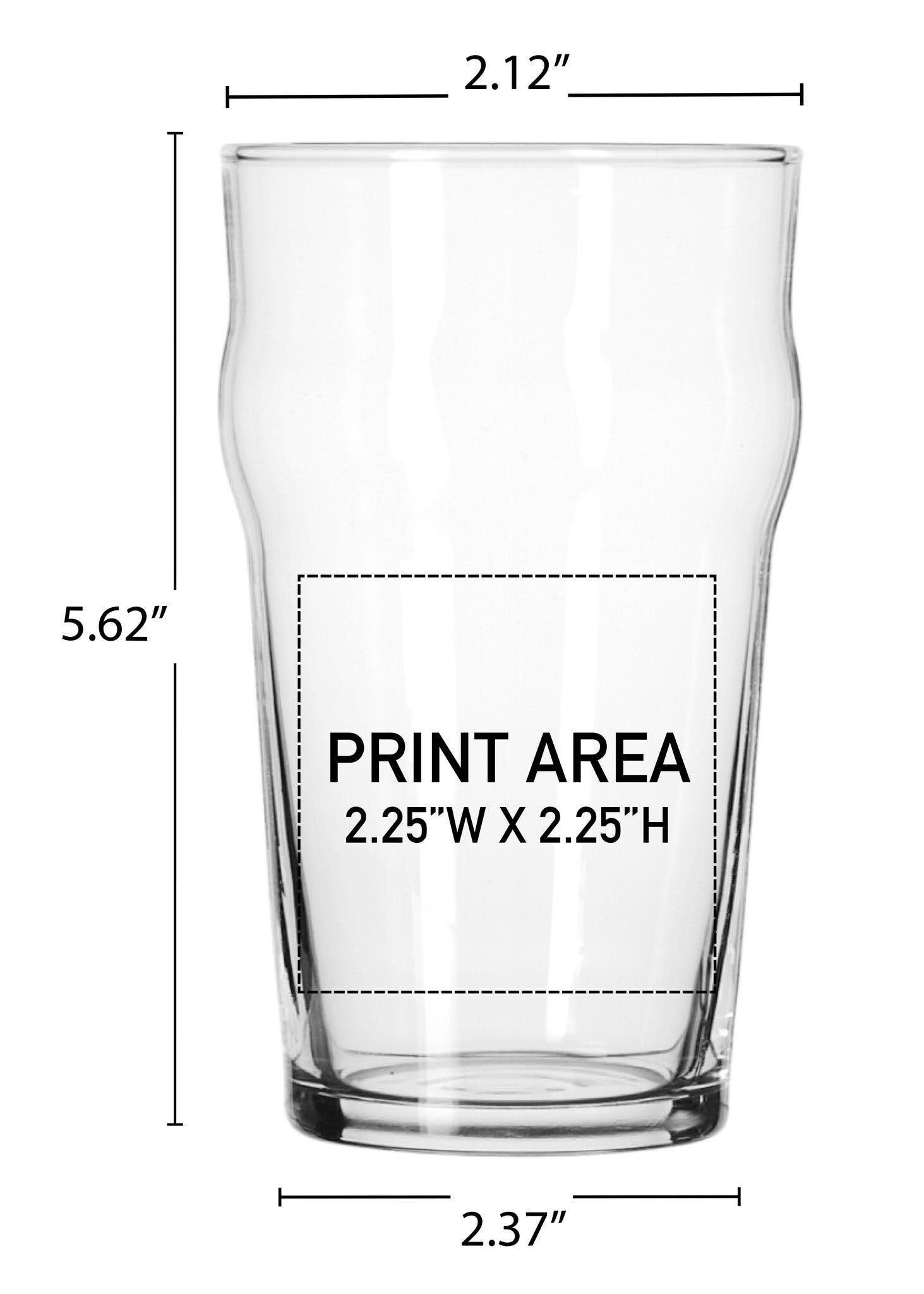 16 oz. Nonic Pub #605 - sold by Clearwater Gear