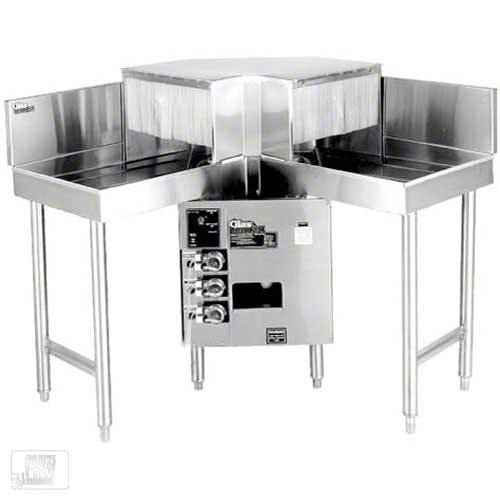 Glastender - GT-18+2-IC 600 Glass/Hr Pass-Through Rotary Rack Glasswasher Commercial dishwasher sold by Food Service Warehouse