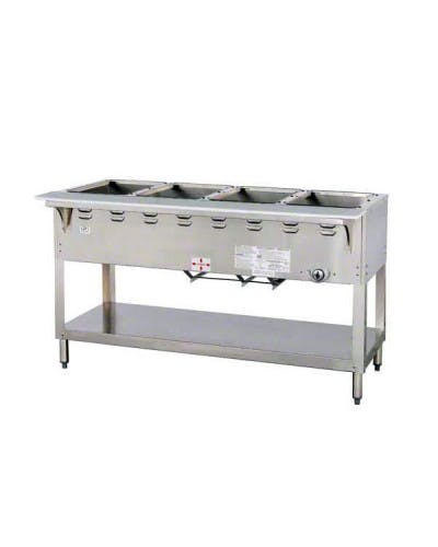 DUKE 304 FOUR (4) WELL GAS STEAM TABLE – AEROHOT Steam table sold by NJ Restaurant Equipment