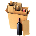 3-Bottle Shipper. - Wine shipper sold by Midstates Packaging