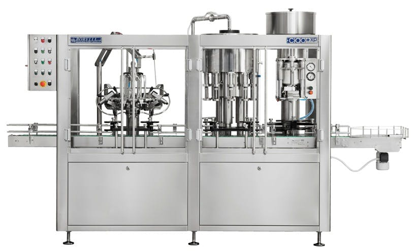 Borelli Ciao+ XP Bottling machinery sold by The Vintner Vault
