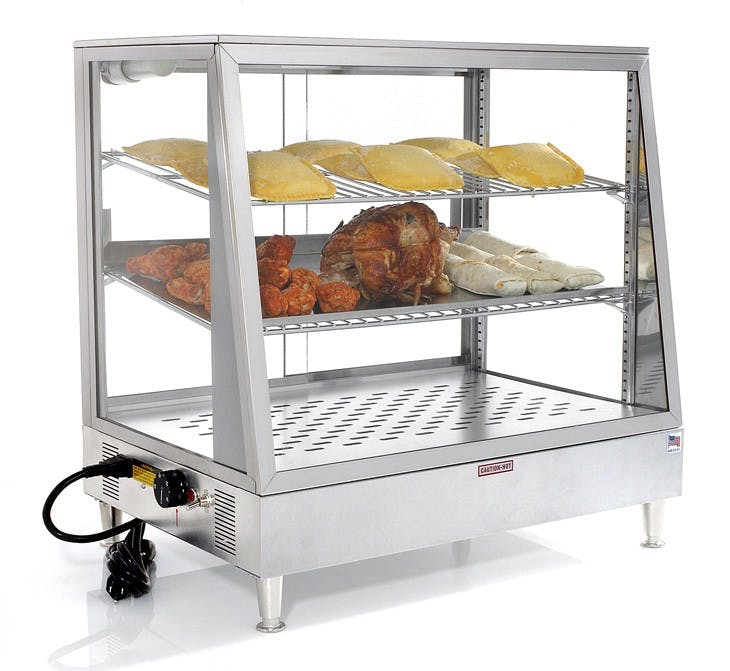 "Carib 172536SL - Warming Display Case 36"" Food display case sold by Elite Restaurant Equipment"