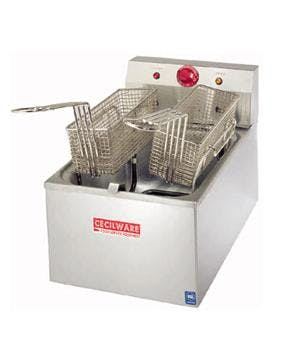 15lb 120V Electric Countertop Fryer Commercial fryer sold by ChefsFirst