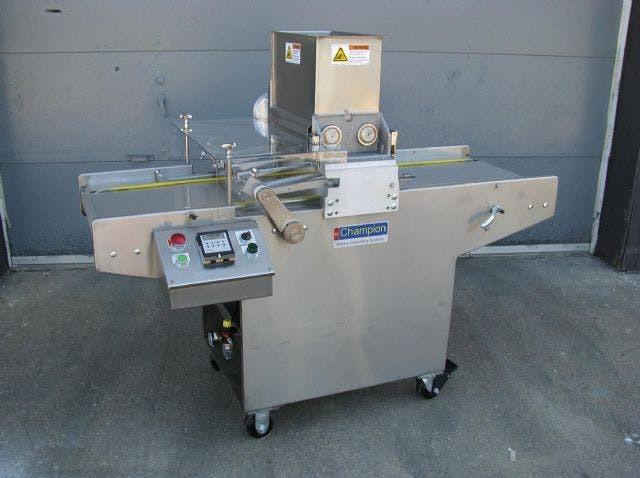 Champion 65-S Cookie Depositor Cookie depositor sold by Bakery Equipment.com