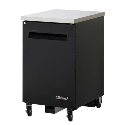 Turbo Air TBB-1SB Back Bar Cooler, One Section, 24 Inches Wide  Back bar cooler sold by Mission Restaurant Supply