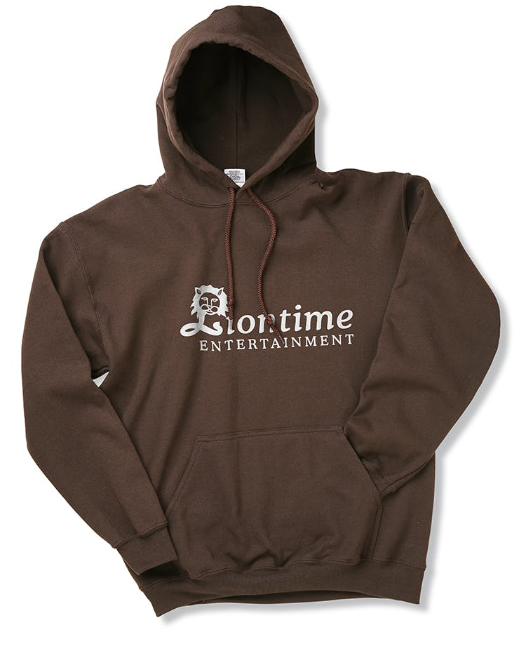 Gildan 50/50 Hooded Sweatshirt  Promotional shirt sold by 4imprint