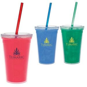 18 Oz. Double Wall Mood Tumbler Plastic cup sold by Dechan, Inc. II