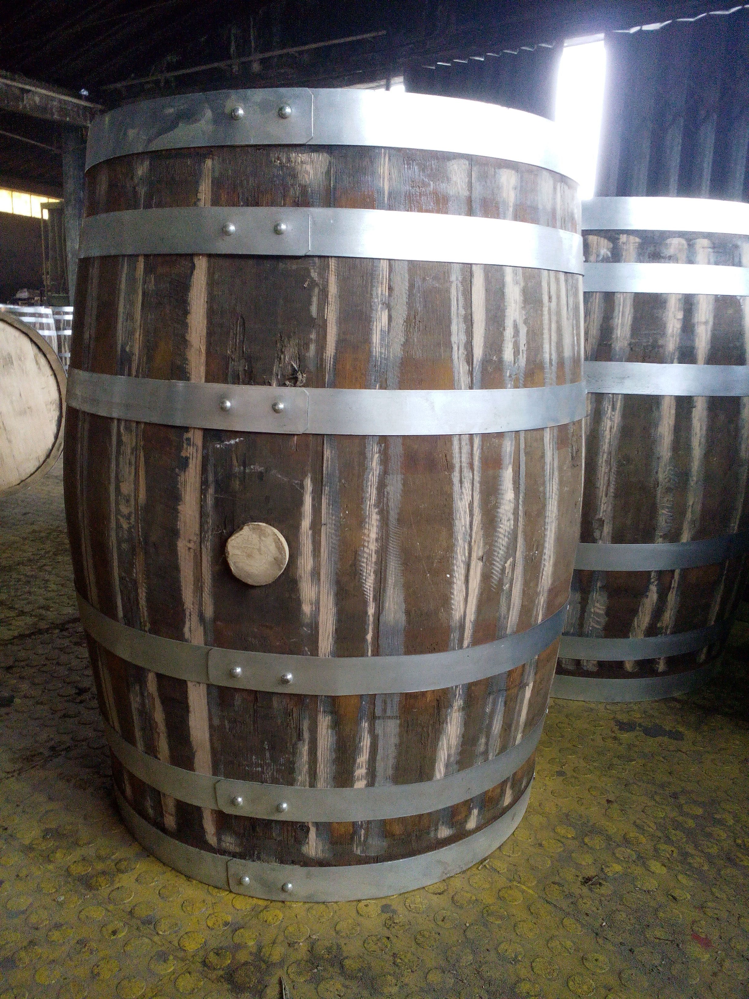 USED Cognac (Imported) Whiskey barrel sold by Rocky Mountain Barrel Company
