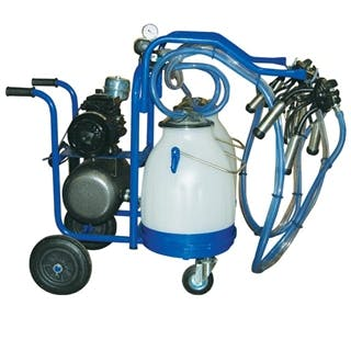 Eco Milker Portable Milking Machine for Two Animals Milking machine sold by Homesteader's Supply