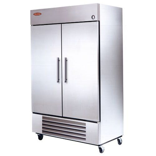"Universal RIF48SC - 48"" Stainless Steel Reach In Freezer Commercial freezer sold by Elite Restaurant Equipment"