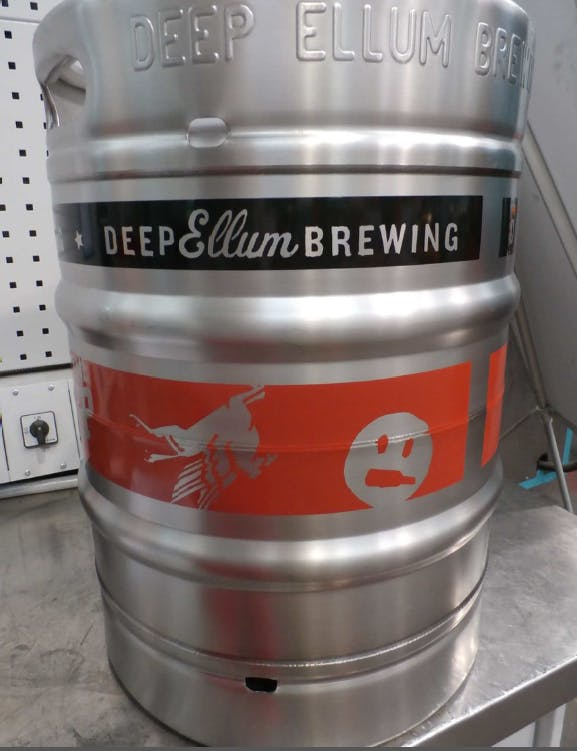 Two-Color Silk Screening Keg sold by BLEFA Kegs Inc.