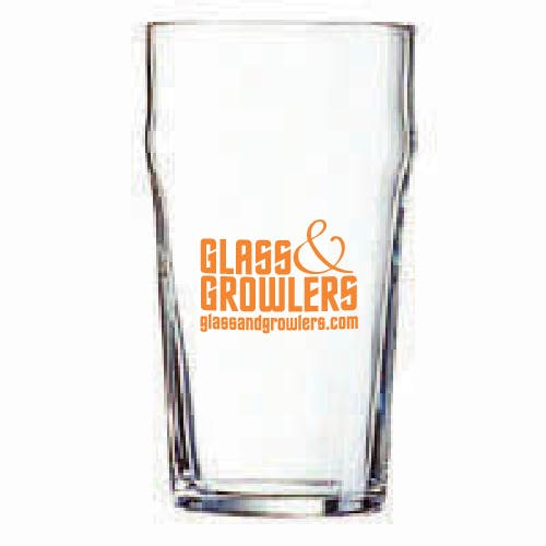 G5025 Nonic Tumbler 16 oz Beer glass sold by Glass and Growlers