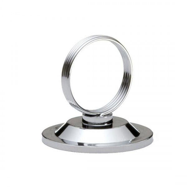 "2"" Nickel-Plated Menu Card Holder"