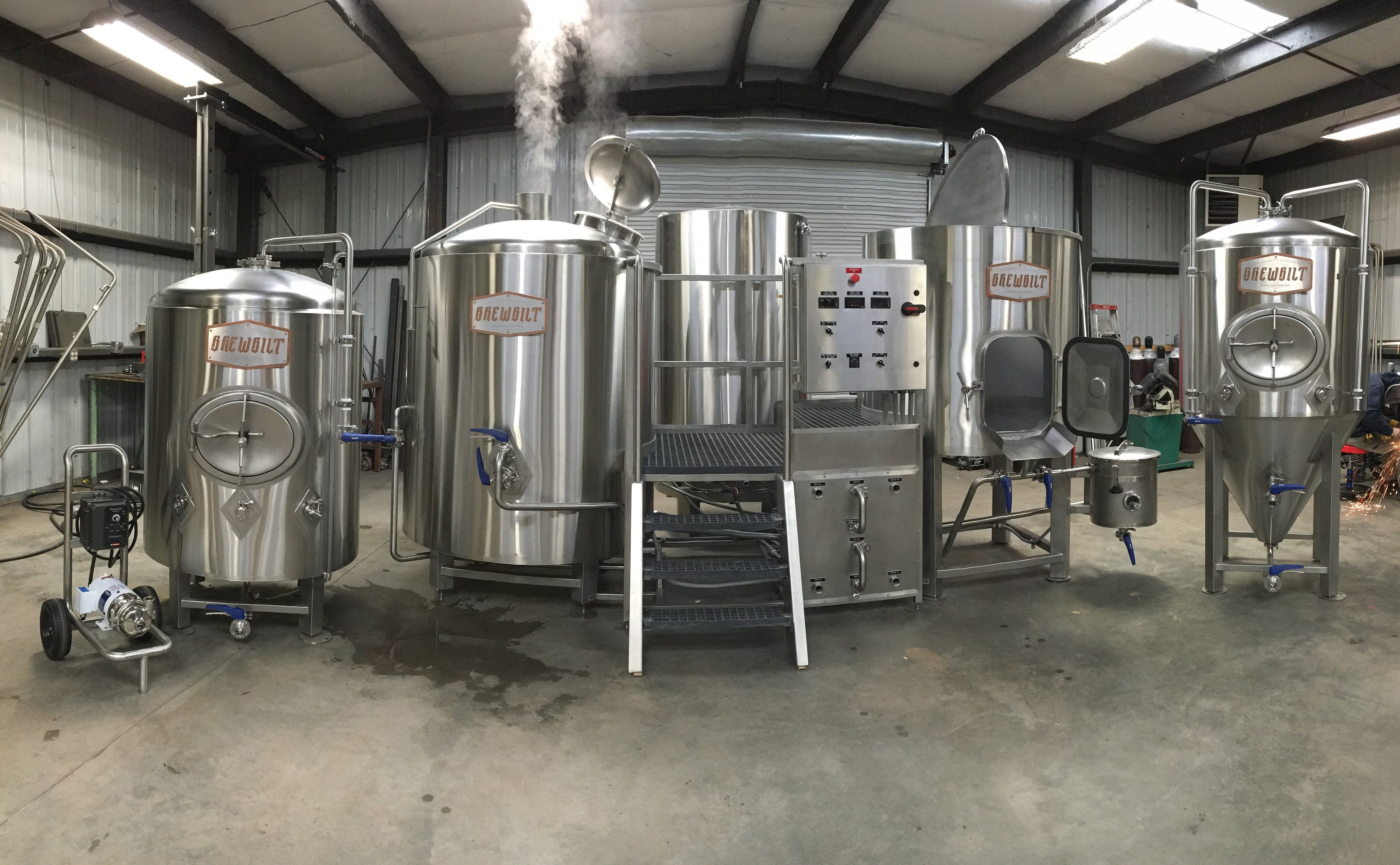 7 BBL Brewhouse Brewhouse sold by BrewBilt Manufacturing LLC