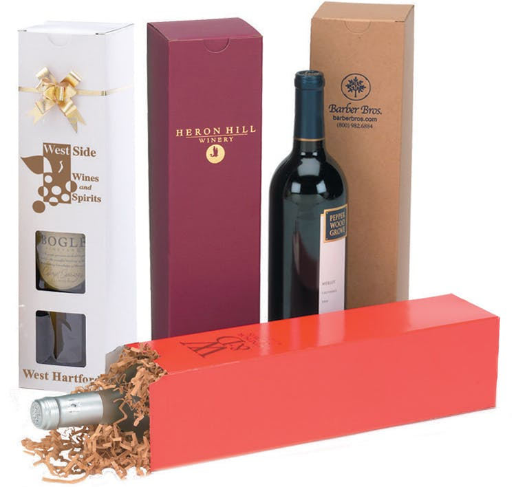 Wine Boxes Wine box sold by The Packaging Source, Inc.