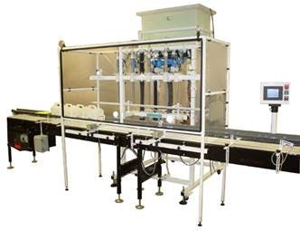 Pail Filling Machine Bottle filler sold by Inline Filling Systems