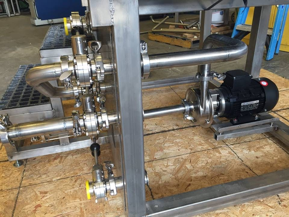 Systech Pump Transfer pump sold by Systech Stainless Works, LLC