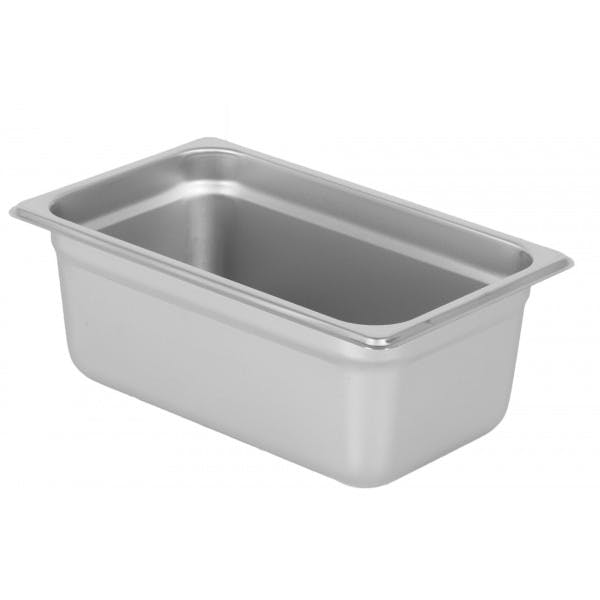 """4"""" Fourth Size Stainless Food Pan"""