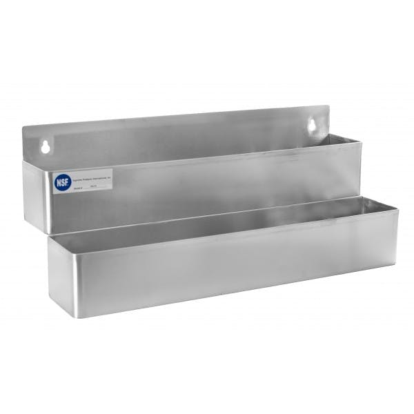 "22"" Stainless Double-Tier Speed Rail"