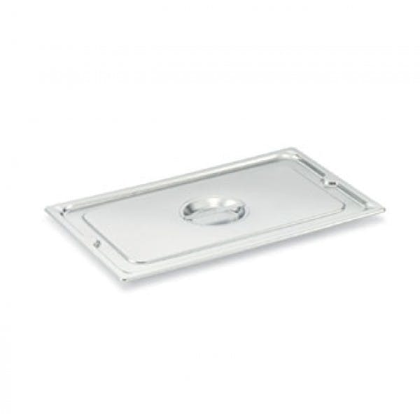 Sixth Size Solid Stainless Steam Table Pan Cover
