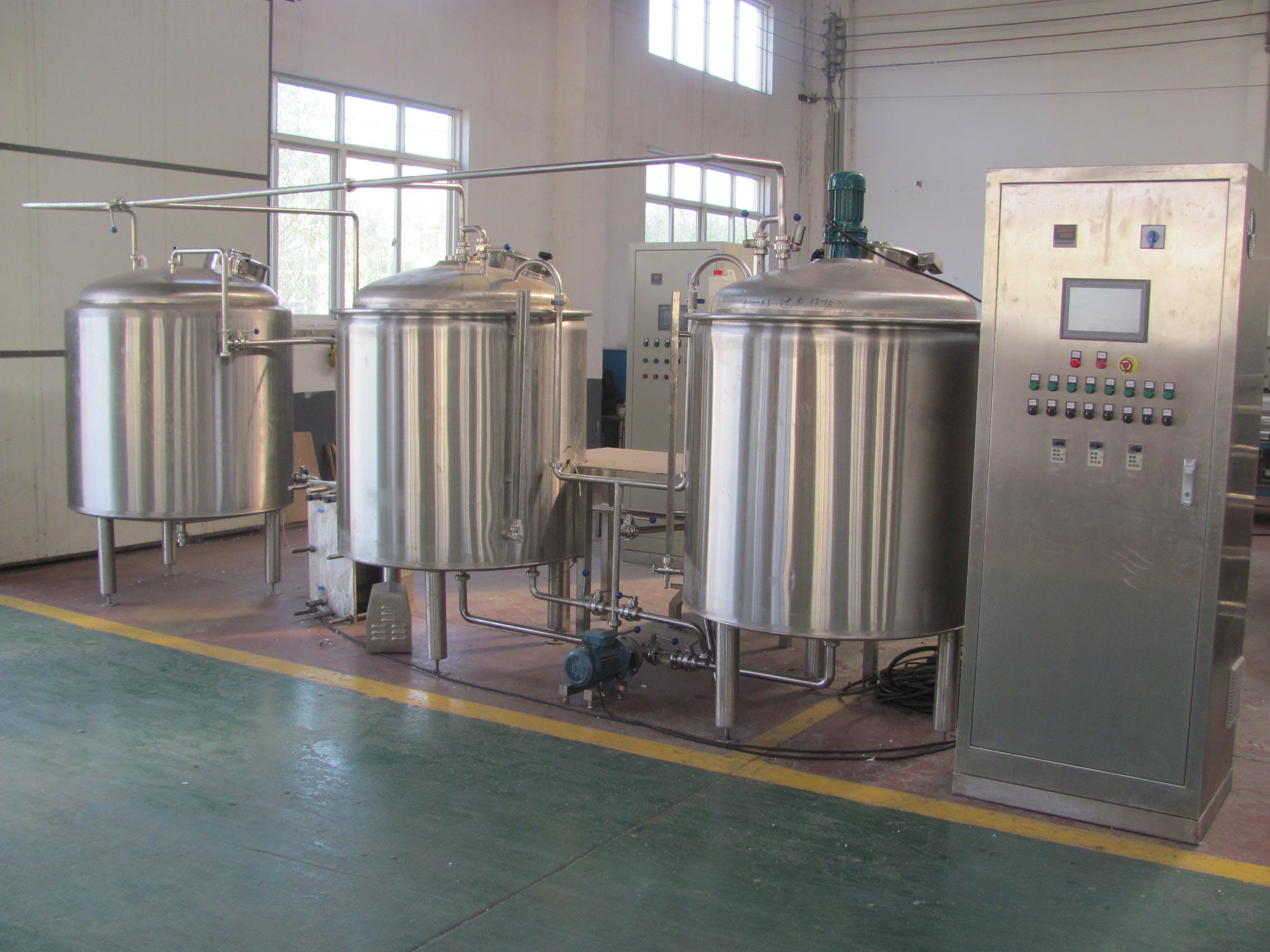 10 BBL Brewhouse - 30 BBL Brewhouse - sold by Asia Pacific Packaging
