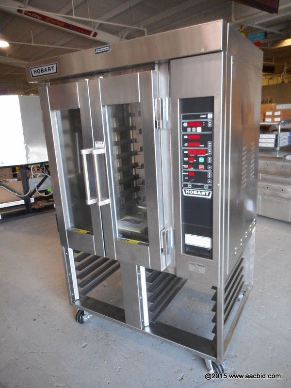 HOBART HO300E MINI ROTATING ELECTRIC RACK OVEN - sold by G . D . P. USA. INC
