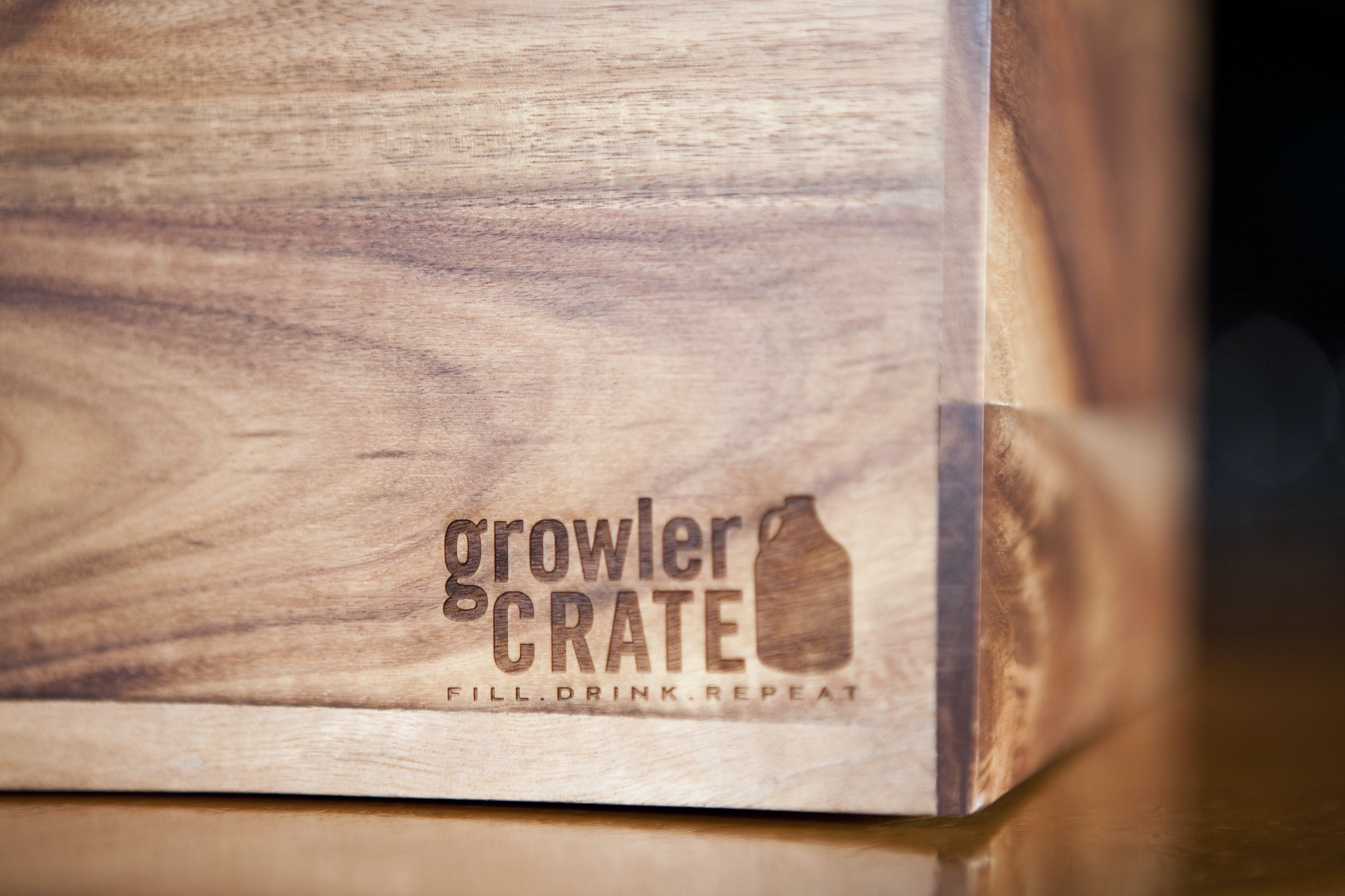 Growler Crate - Two Seater - sold by Growlercrate LLC [CLOSED]