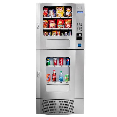 Shermco model 9 combo machine Vending machine sold by Shermco Vending
