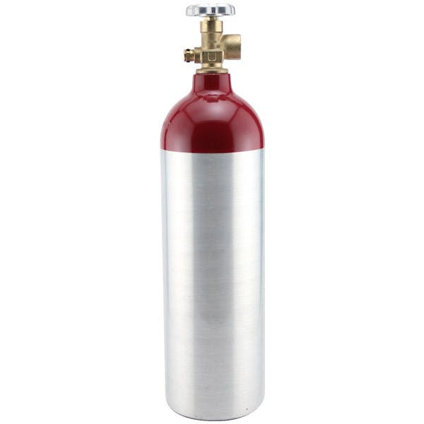 Nitrogen Gas Tank - 22 Cubic Foot Aluminum Air tank sold by KegWorks