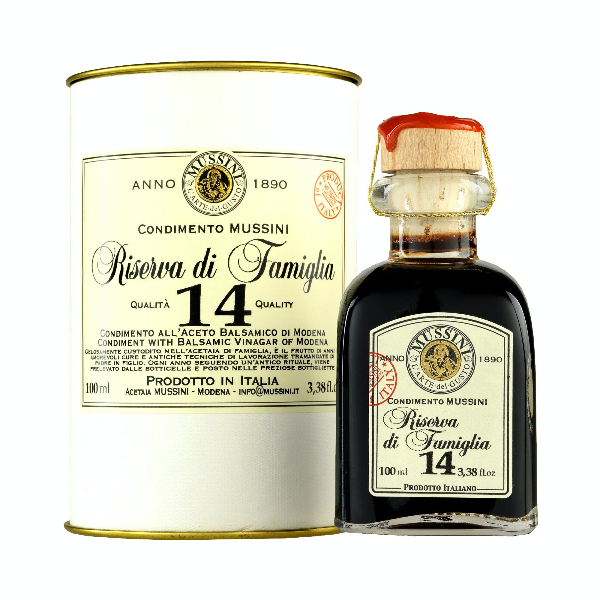 "14 Year ""Riserva di Famiglia"" Balsamic Vinegar Balsamic Vinegar sold by M5 Corporation"