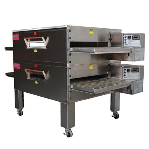 EDGE 60 Series Double-Stack Gas Conveyor Pizza Oven Commercial oven sold by Pizza Solutions