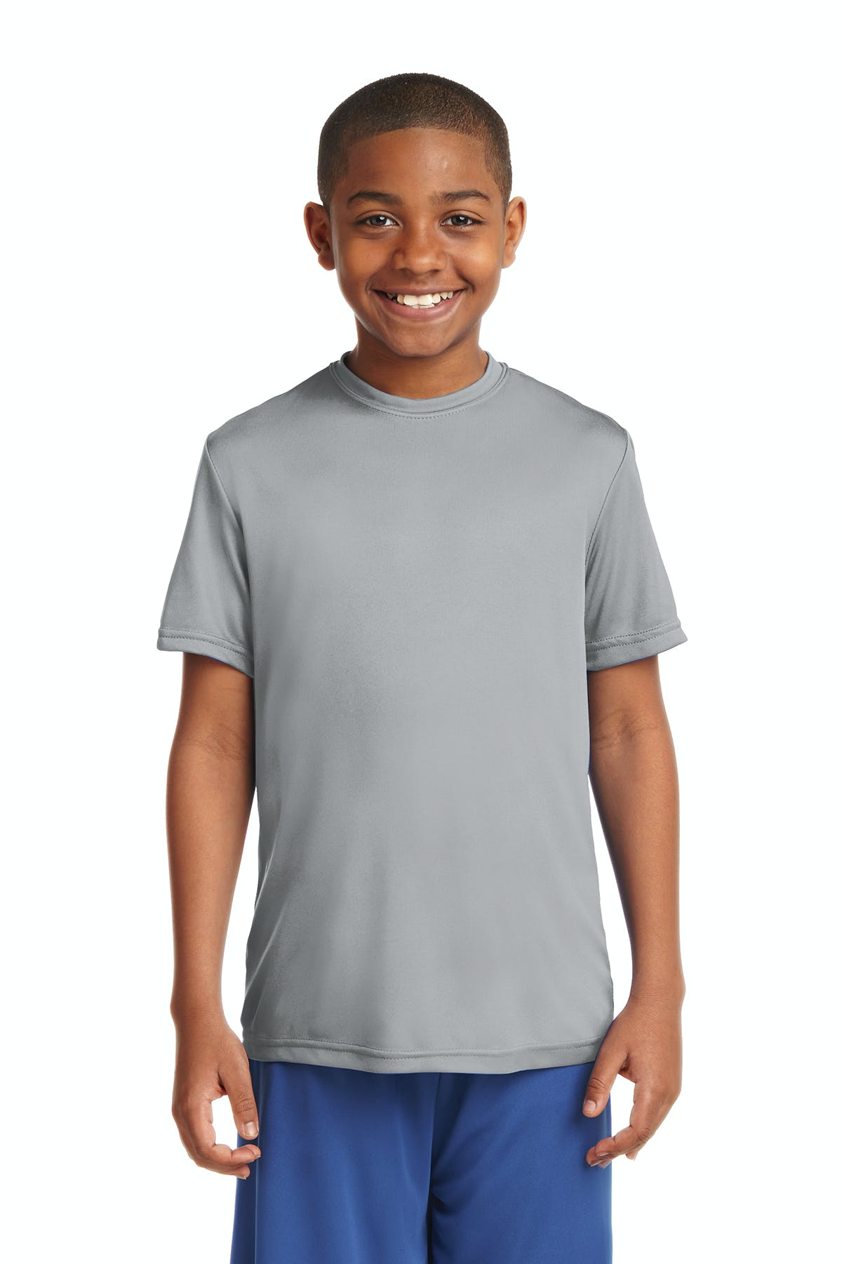 Sport-Tek® Youth PosiCharge® Competitor™ Tee - sold by PRINT CITY GRAPHICS, INC