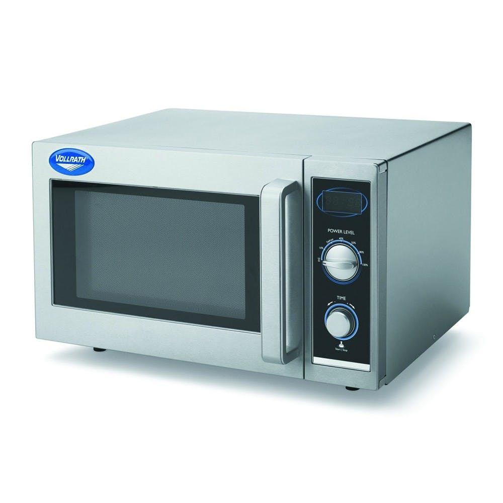 Vollrath 40830 Commercial Microwave Oven - Manual Controls Commercial microwave sold by Mission Restaurant Supply
