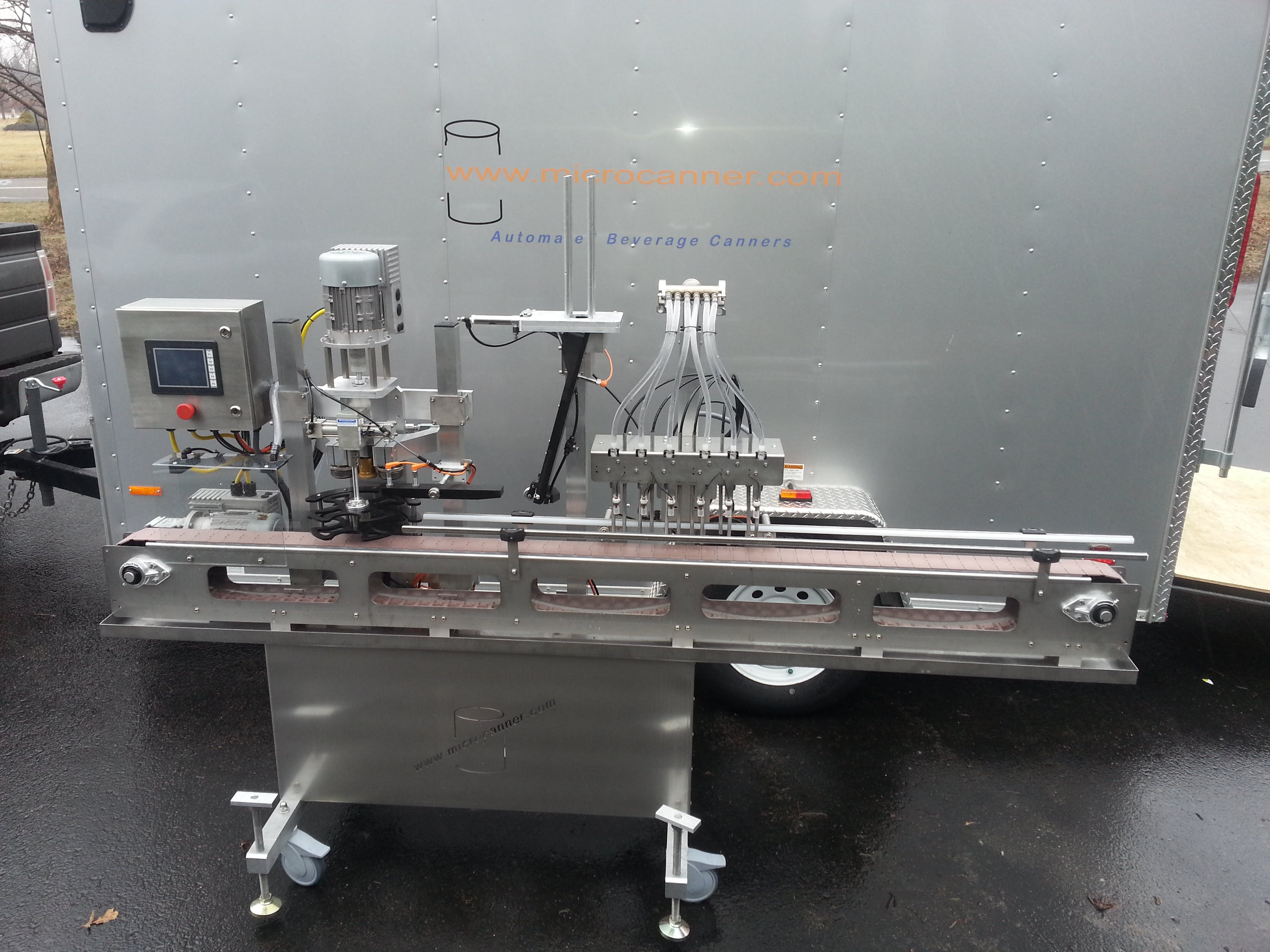MC-201 Base Can Unit Can filler sold by Microcanner