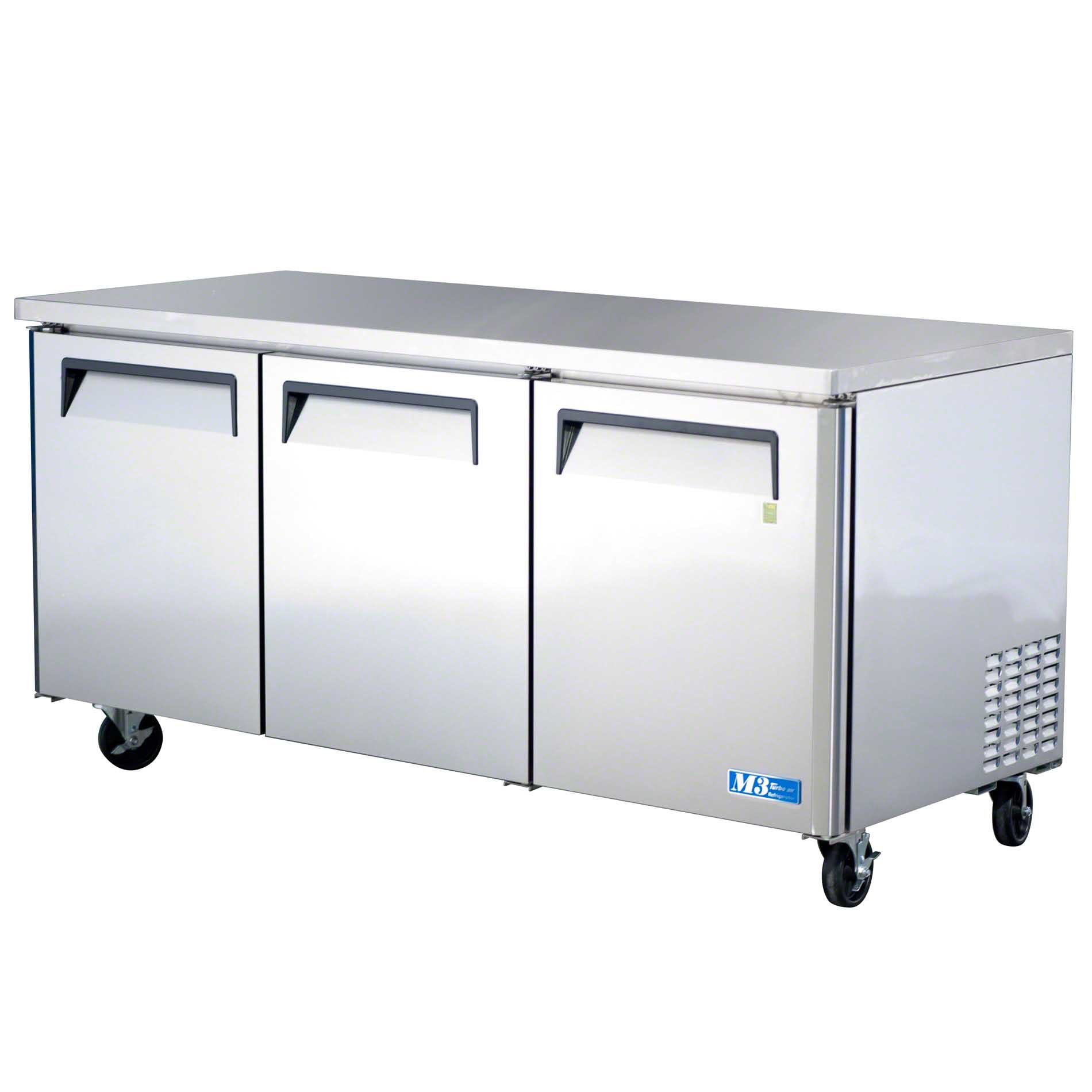 "Turbo Air - MUR-72 73"" Undercounter Refrigerator – M3 Series Commercial refrigerator sold by Food Service Warehouse"