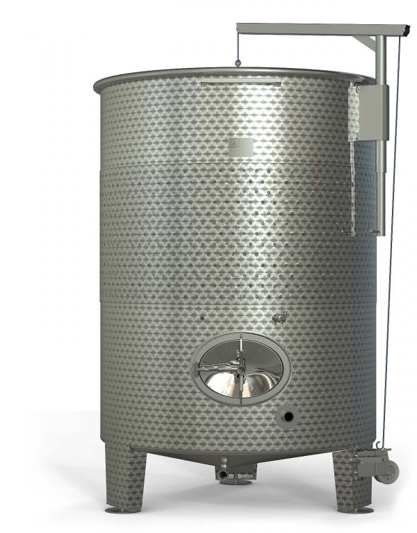 SK Group VW-1500GAL Fermenters Wine tank sold by Prospero Equipment Corp.