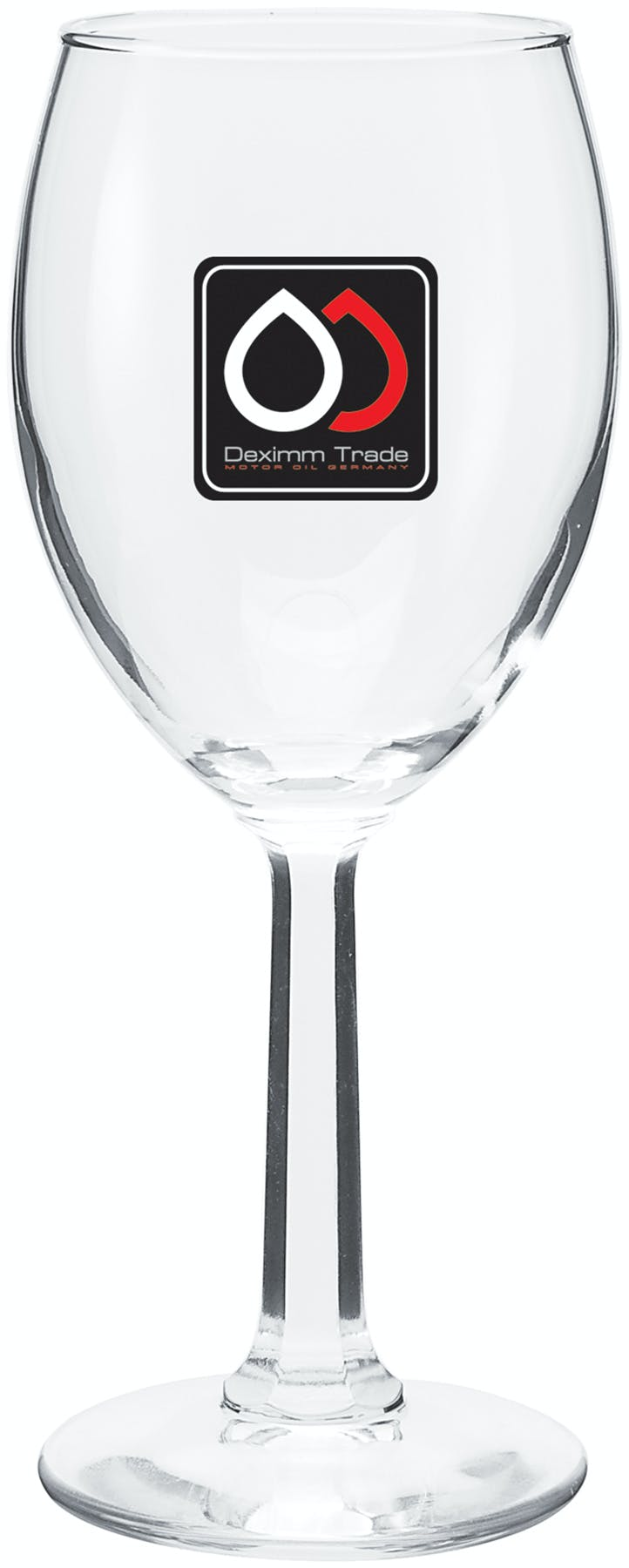 7.75 Oz. Wine Glass (Item # BDFOQ-CGJYJ) Wine glass sold by InkEasy