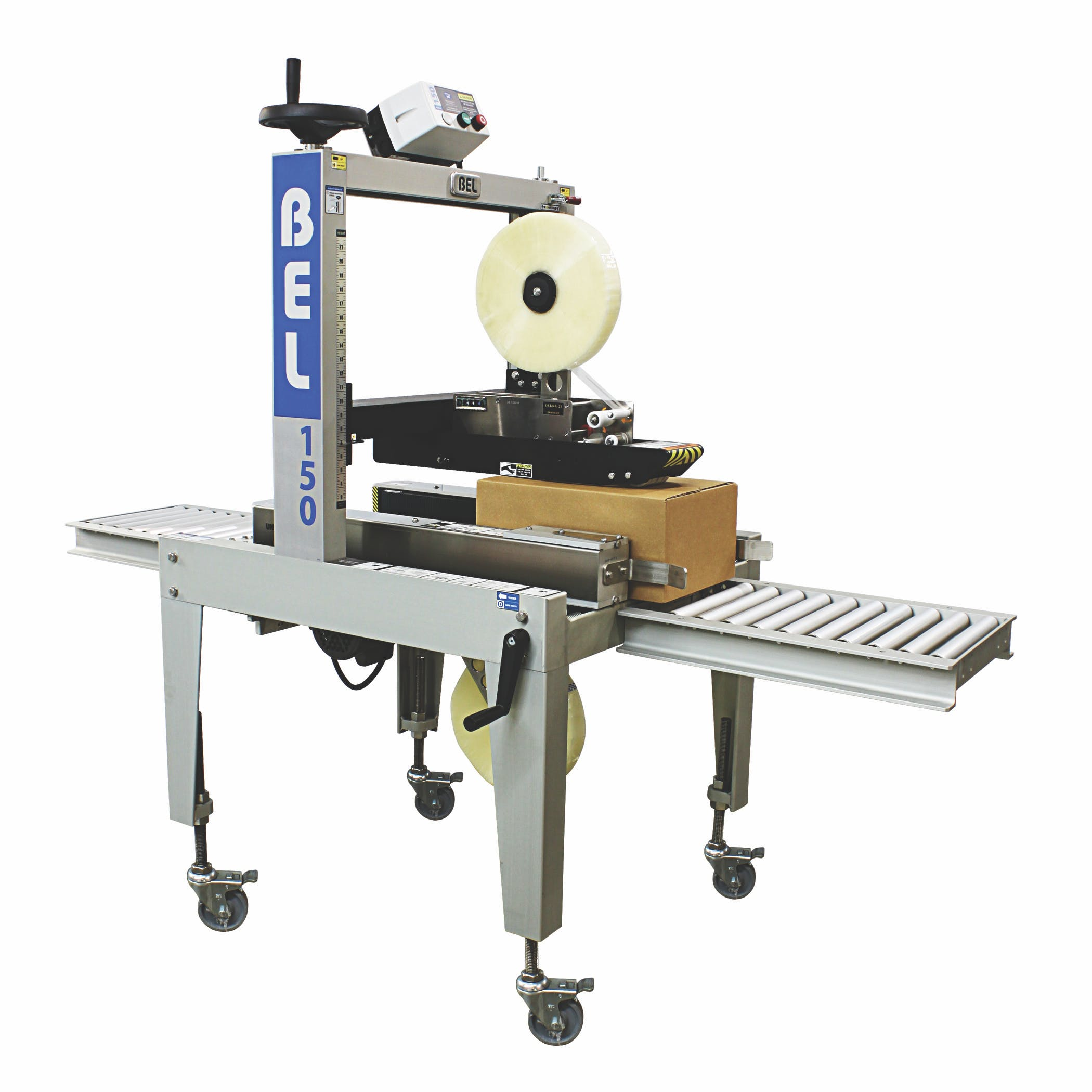 Belcor Case Sealer - BEL-150, Semi-Automatic Case sealer/taper sold by Package Devices LLC