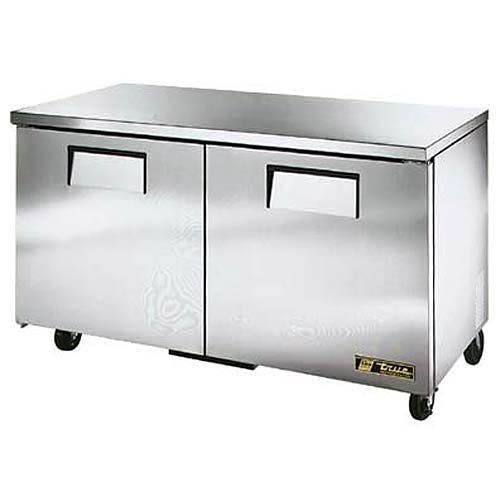 "True - TUC-60-LP 61"" Low Profile Undercounter Refrigerator Commercial refrigerator sold by Food Service Warehouse"