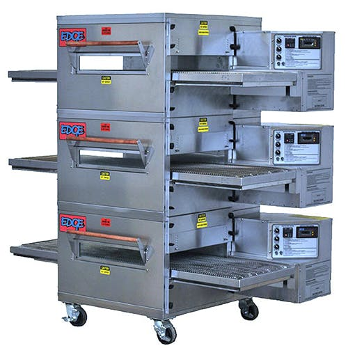 EDGE 30 Series Triple-Stack Gas Conveyor Pizza Oven Commercial oven sold by Pizza Solutions