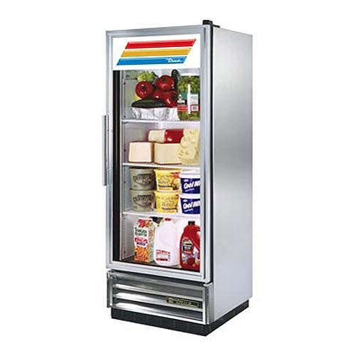 "True - T-12G 25"" Swing Glass Door Merchandiser Refrigerator Commercial refrigerator sold by Food Service Warehouse"