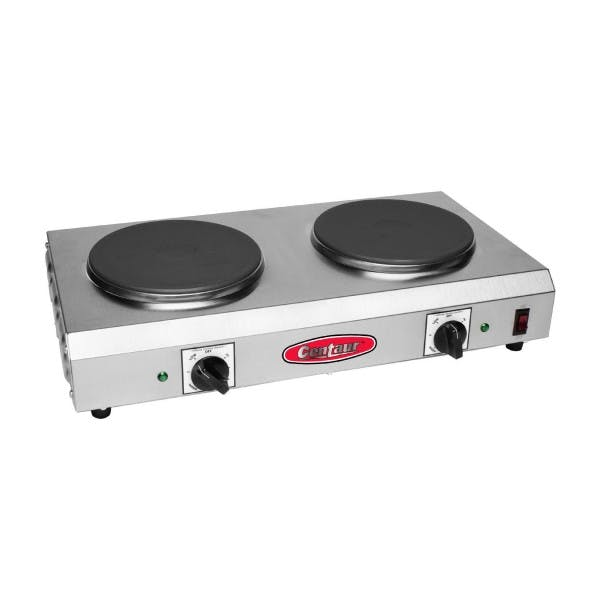 2 Burner Cast Iron Hot Plate