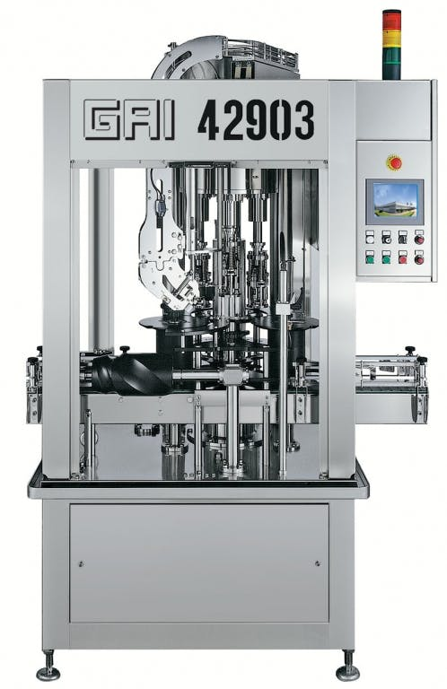 GAI 42903 V1 Capping machines Bottle capper sold by Prospero Equipment Corp.
