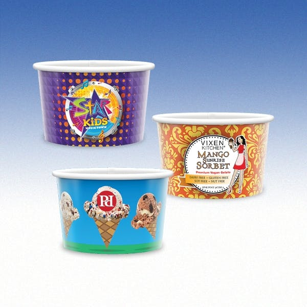 5oz-Heavy Duty Paper Cold Cup-Hi-Definition Full Color Paper packaging sold by Custom H2Oh!