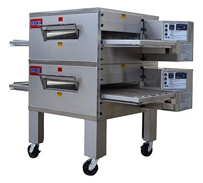 EDGE 2440 Series Double-Stack Gas Conveyor Pizza Oven Commercial oven sold by Pizza Solutions