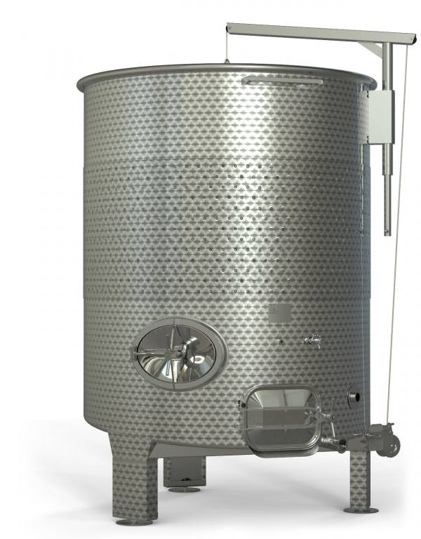 SK Group VR-500GAL Wine Fermenters Wine tank sold by Prospero Equipment Corp.