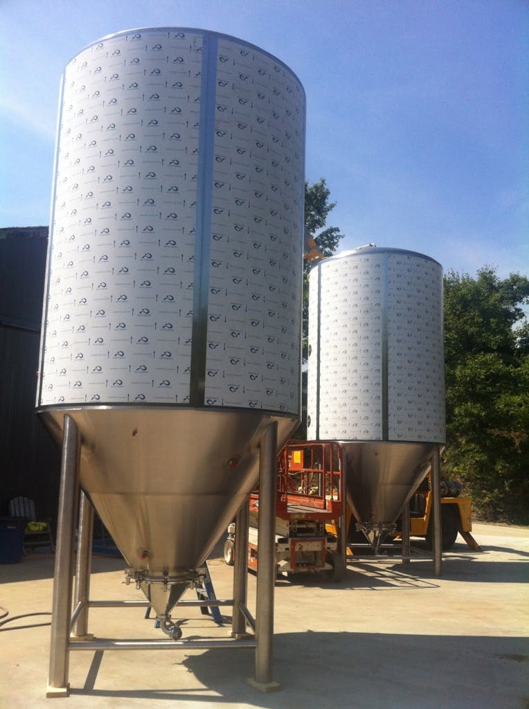 200bbl UT Fermenter sold by Craftwerk