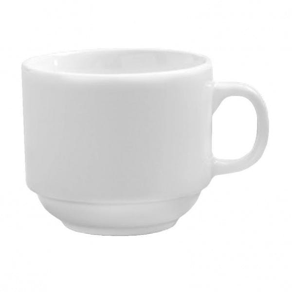 Classico 7 oz. Stackable Porcelain Coffee Cup